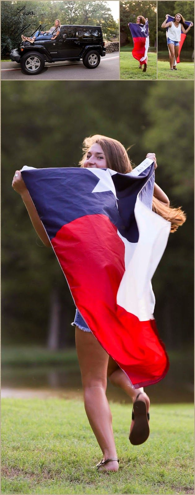 senior picture ideas, Texas flag, posing, laughing, girls, outfits, portraits, lake, water, creative, urban, click the pic for more from Flower Mound, Dallas Photographer