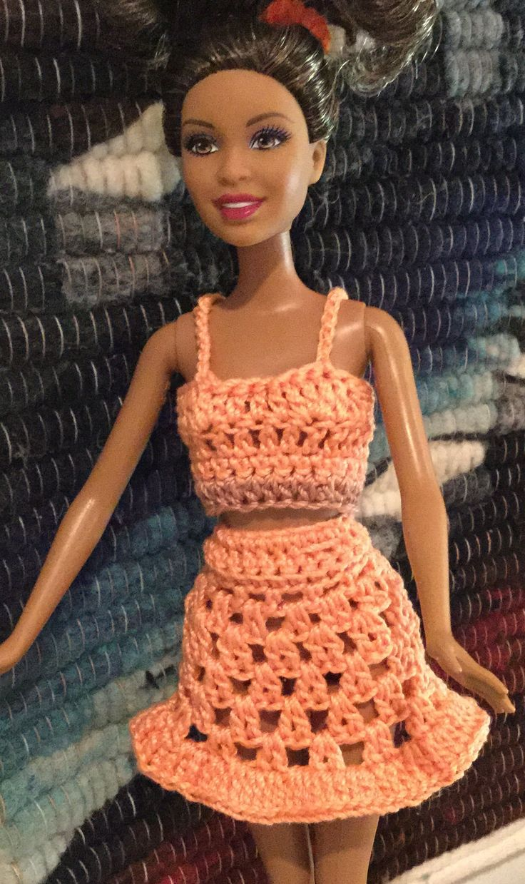 1300 best Barbie crocheted costumes images on Pinterest ...