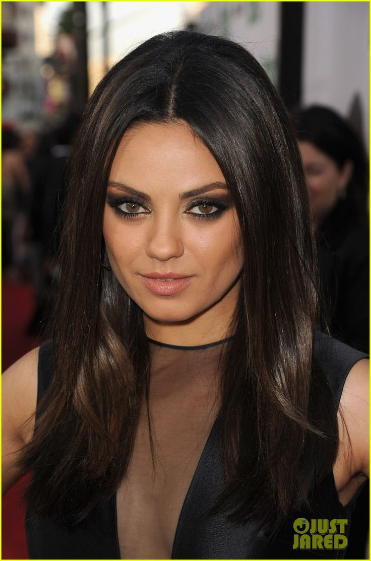 mila kunis i am stealing your hair cutcolor thanks love