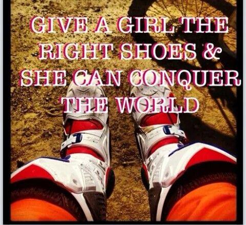 Ladies love dirt bikes & motocross!