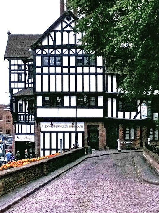 Coventry England Downtown | ... timbering in Coventry,