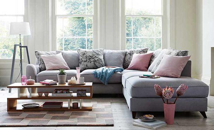 déco séjour tendance en couleurs Patone de l'année 2016 rose et bleu pastel