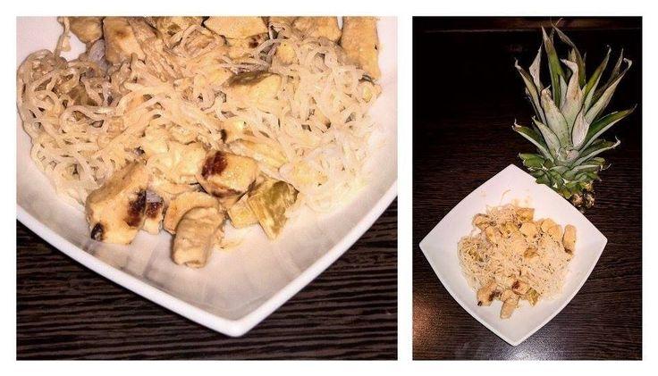 Ananászos-csirkés Angyalhaj | Klikk a képre a receptért!