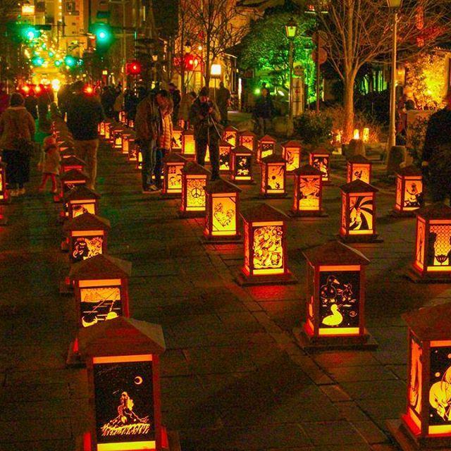 Instagram【u.s.k.u.s.k】さんの写真をピンしています。 《長野県長野市から長野灯明まつり  冬季オリンピックの記念に始まったこの祭りは年に一度毎年開催されてます 写真は善光寺表参道の石畳で 沢山の灯り絵が飾られてます  #長野#善光寺#表参道#灯明まつり #夜景#光 #night_photography #nightview #jr#l4l#f4f #team_jp_#team_jp_東#ig_japan#instagramjapan #japan_daytime_view#photo_shorttrip#shorttrip #東京カメラ#カメラ男子》