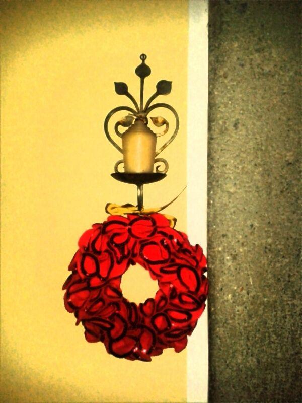 Hey Santa! Christmas wreath