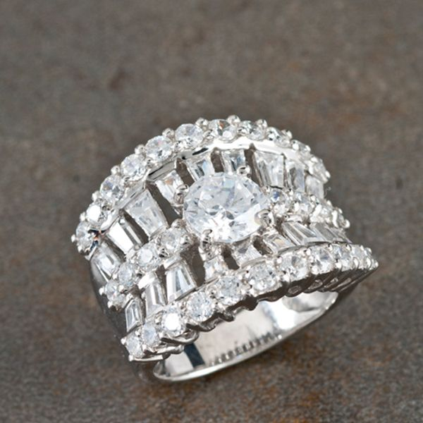 Bella Luce Ring In Sterling Silver Say Quot I Do Quot With Jtv