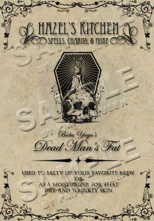 Other Apothecary Jar Labels