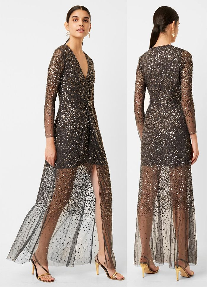 Christmas Party Dress New Years Eve Party Outfits Sequin Maxi Dress For Festive Season Fashion Cocktail Party Outfit New Years Eve Outfits Eve Outfit