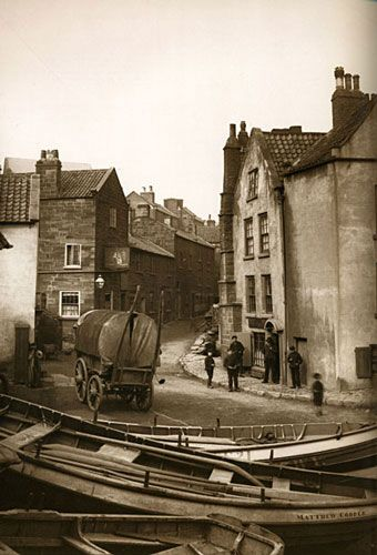 Robin Hood's Bay (Photo by Frank Sutcliffe, circa 1890) - visited this place yesterday with my son on the way home from Whitby - magical place - just lovely and unspoilt - will definitely return one day............