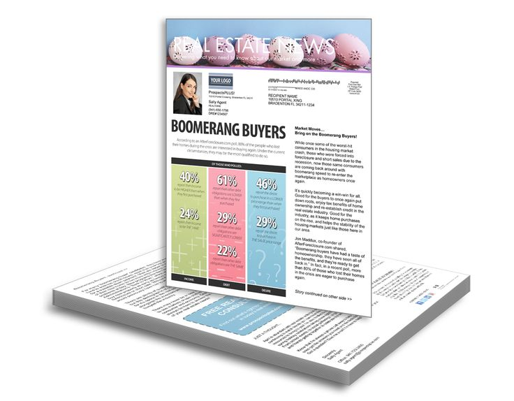 Best Real Estate Newsletters For Sphere Of Influence Images On