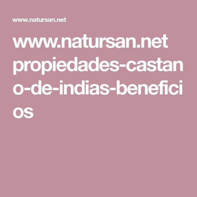 www.natursan.net propiedades-castano-de-indias-beneficios