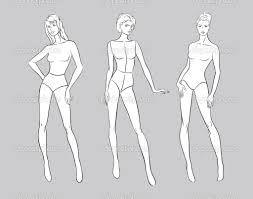 Znalezione obrazy dla zapytania projektowanie mody szkice