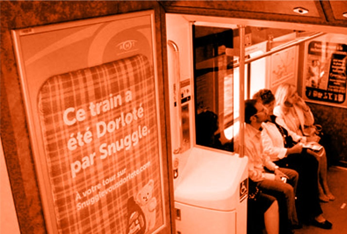 Montreal Commuter Trains /   Trains de banlieue Montréal - #Trains #TrainStation #Poster #AstralOutOfHome #AstralAffichage #Publicite #Advertising #Ads #Billboard #PanneauAffichage #Montreal