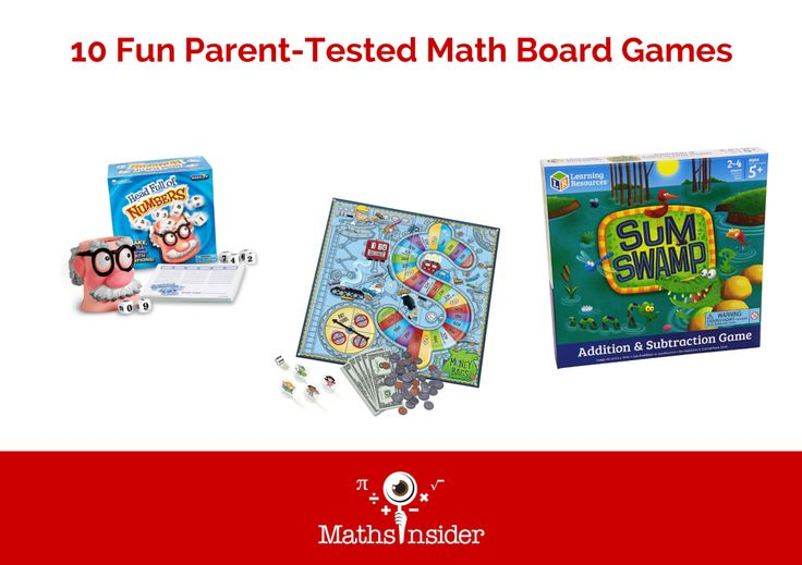 Board games are a great way to make math practice painless. Check out these math…