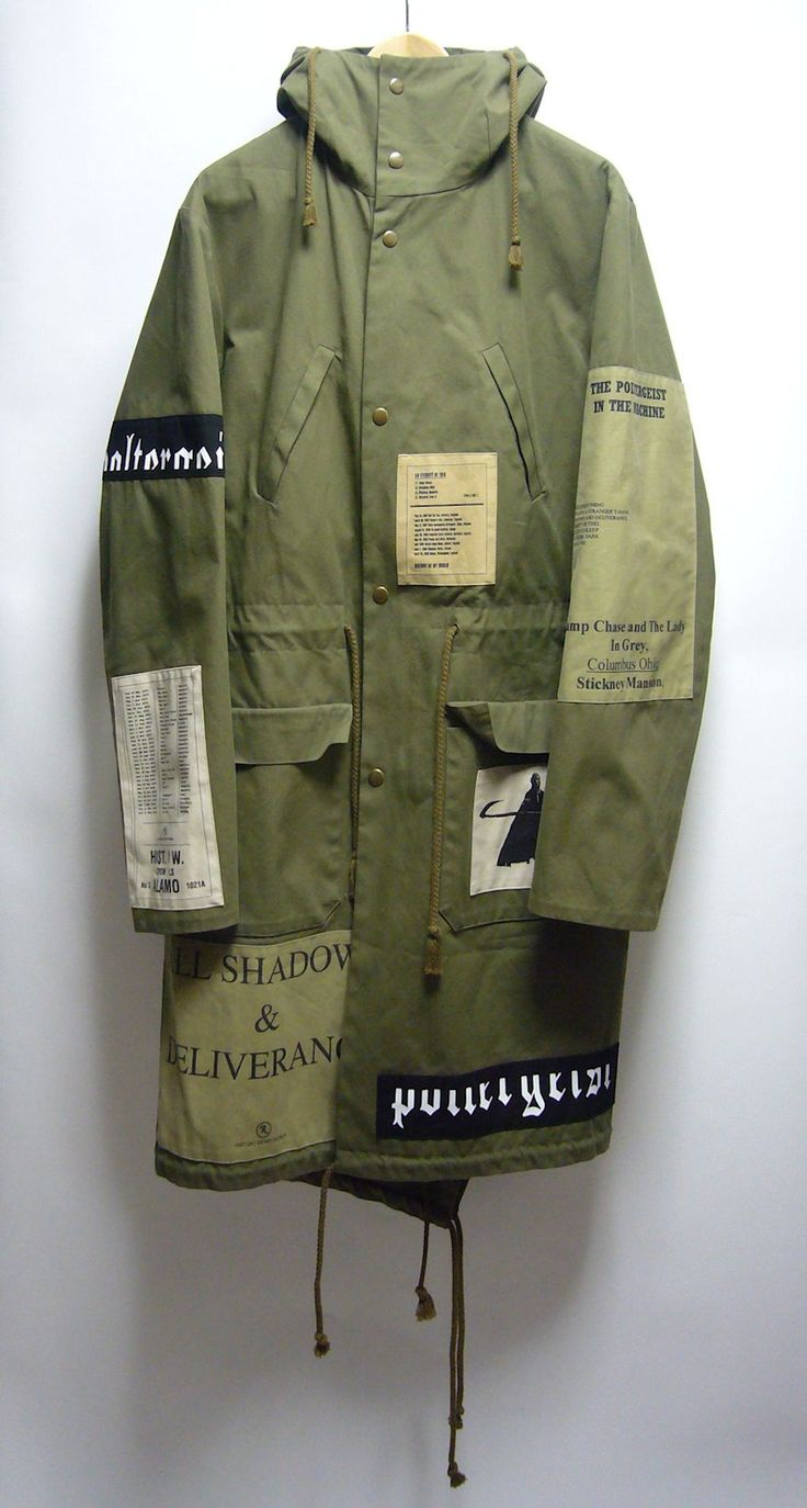 strangewaysnyc:  RS AW05 'history of my world' parka …