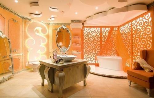 25+ Best Ideas About Orange Bathroom Decor On Pinterest