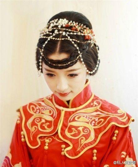 中式婚礼之新娘发型