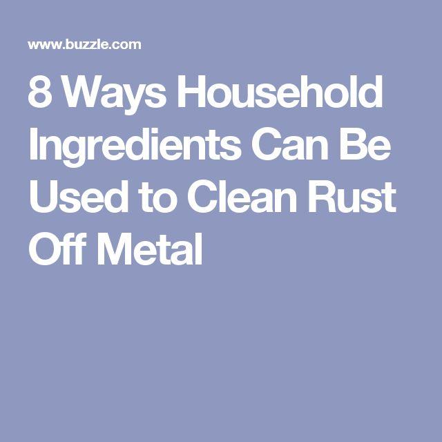 Best 25 Clean Rust Ideas On Pinterest Stains Diy
