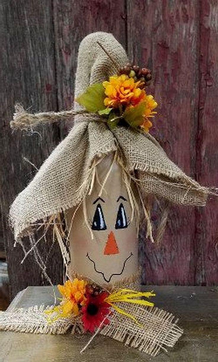 24+ Unique DIY Scarecrow Bottles Ideas Pouring Your Creative Arts