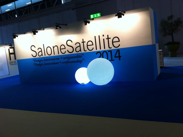 The entrance to the Milan Salone Satellite exhibition 2014