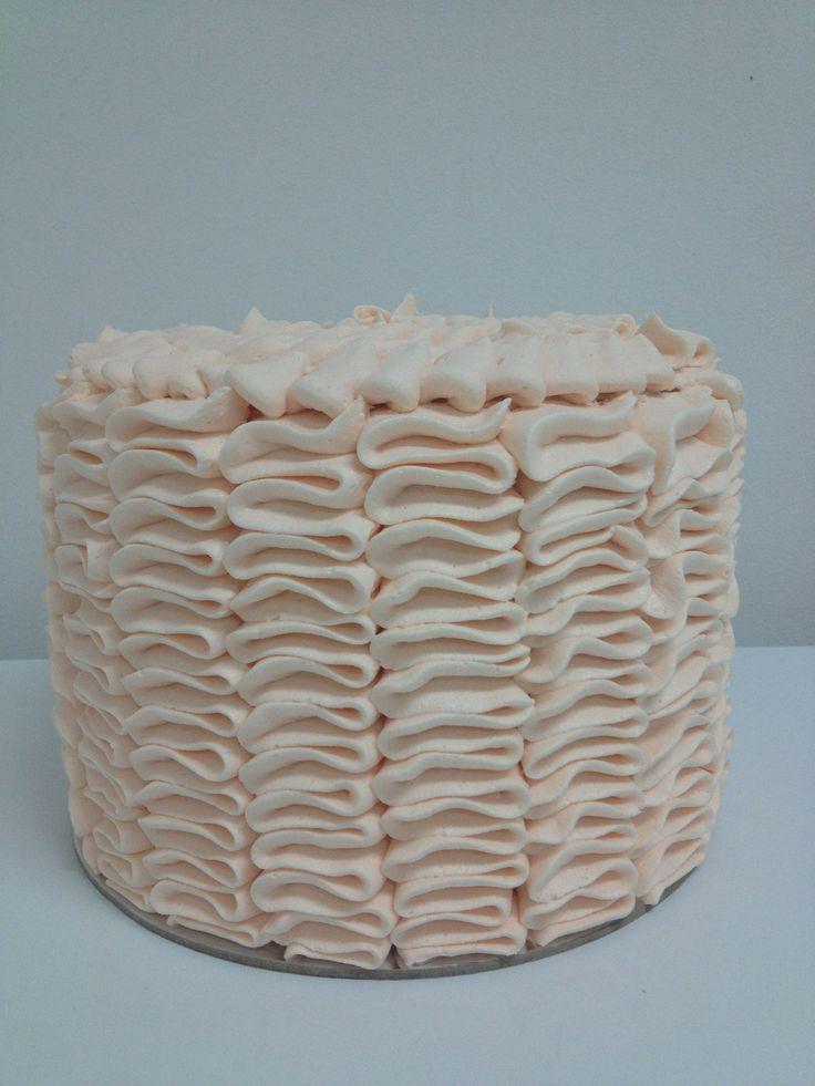 Ruffle cake crumbsbakery.com.au