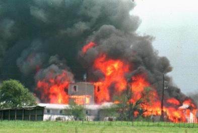 The Waco siege --- this was David Koresh --Timonthy mcVeigh didn't come along till 1995, The Waco siege happened in 1993