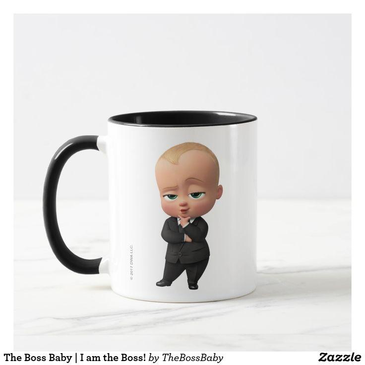 The Boss Baby | I am the Boss! Regalos, Gifts. Producto disponible en tienda Zazzle. Tazón, desayuno, té, café. Product available in Zazzle store. Bowl, breakfast, tea, coffee. #taza #mug