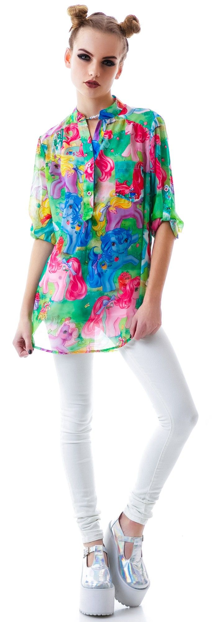 Iron Fist My Little #Pony #Blouse