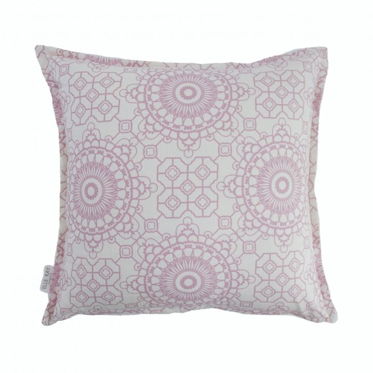 Elle Kay Fabrics Mosaic Rose Quartz Scatter Cushion