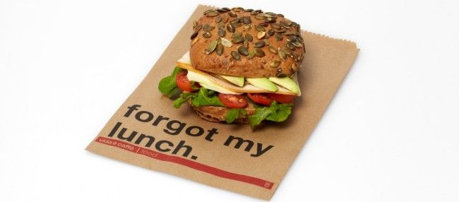 Forgot your lunch? No problem! We have you covered.