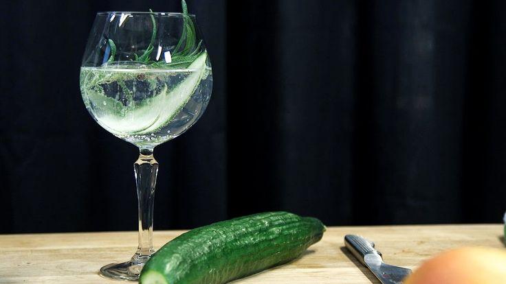 Matgeeks drinktips: Gin & tonic med rosmarin, gurka och svartpeppar