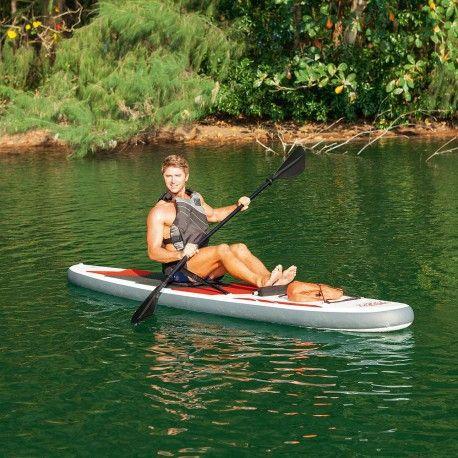 Tabla Paddle Surf Profesional Con Remo Asiento Desmontable 335 x 76 x 15 cm.