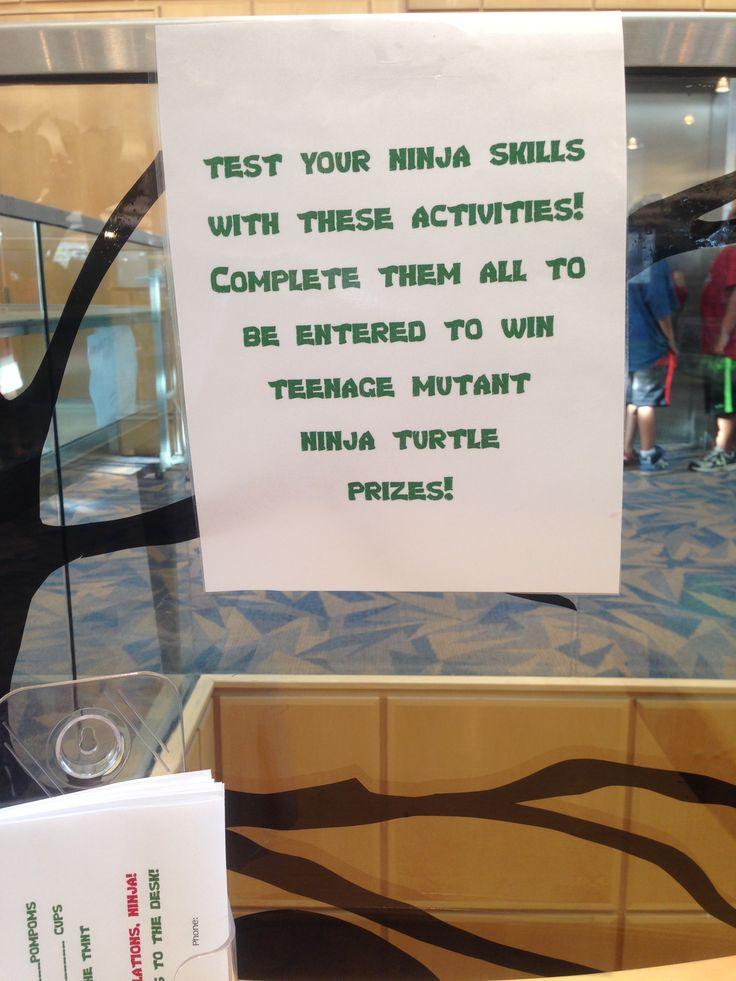 Teenage Mutant Ninja Turtle challenge program