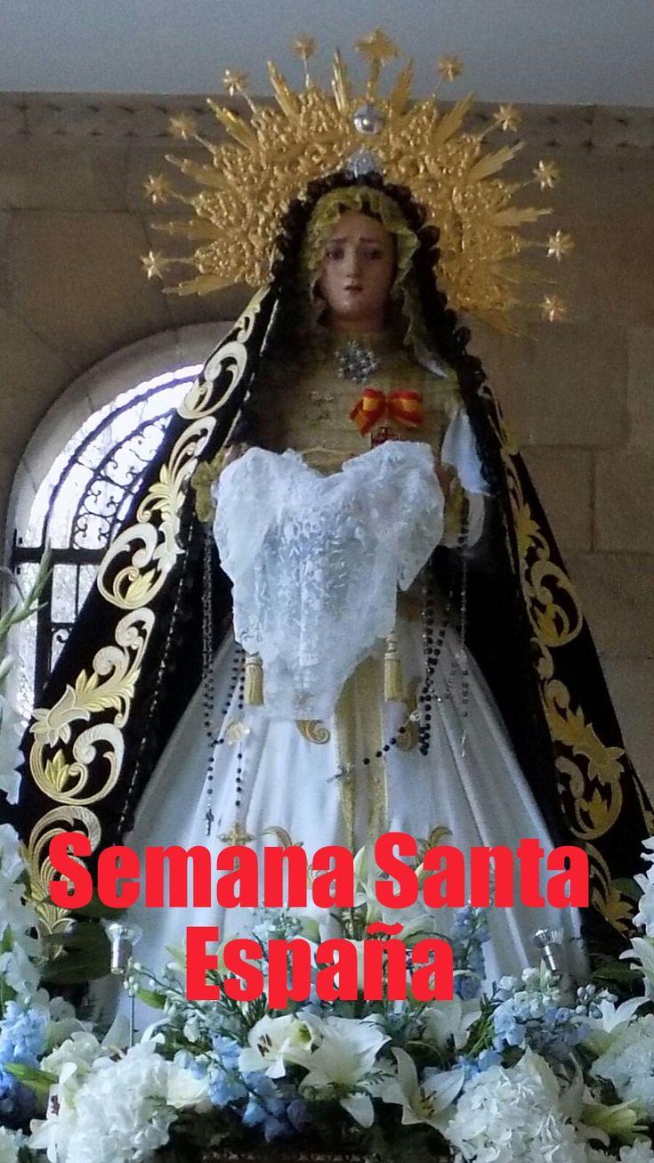 Semana  Santa de pasión de #Gijón #Asturias #viajes #viajar Una de las mejores procesiones para ver en #gijon #Asturias #fiestas #españa #procesiones