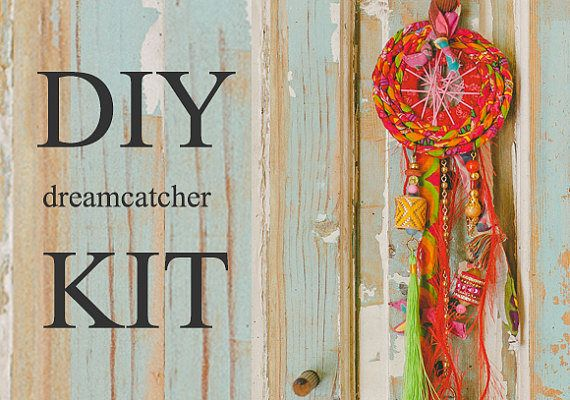 Red Dream Catcher Dream Catcher Kit Dream Catcher Diy