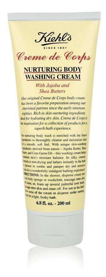 Kiehl's Creme do Corps Nurturing Body Washing Cream... pamper pamper!