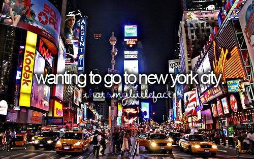 Wanting to Go To New York City <3 # Bucket List # Before I Die