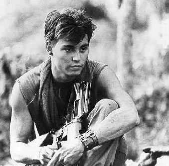 Johnny Depp in Platoon