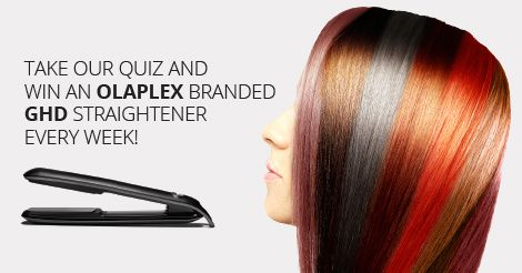 Share this result on social media as an entry into the #OlaplexZA Celeb Competition. The weekly giveaway is a limited edition OLAPLEX branded GHD straightener!