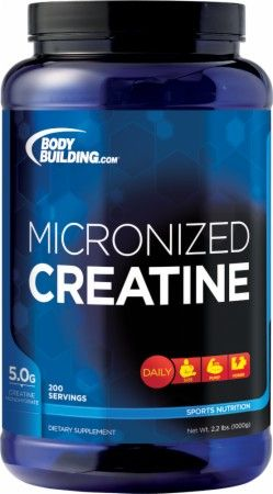 Not just for men!  Increase your power and strength  Micronized Creatine by Bodybuilding.com Foundation Series