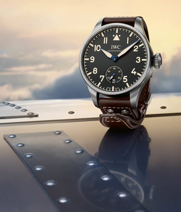 IWC Big Pilot's Heritage Watch 48 and 55 Limited Edition Watches