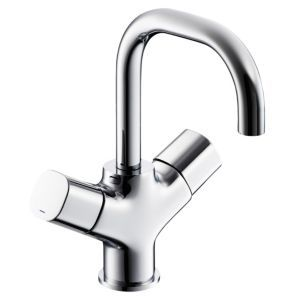 Ideal Standard Tempo 2 Lever Basin Mixer Tap Ideal Standard Tempo 2 Lever Basin Mixer Tap.This contemporary styled chrome two lever basin mixer tap from Ideal Standards Tempo range is suitable for high and low pressure water systems. (Barcode EA http://www.MightGet.com/april-2017-1/ideal-standard-tempo-2-lever-basin-mixer-tap.asp