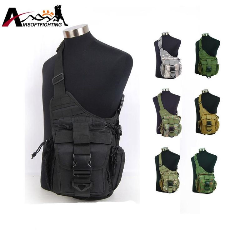 Tactical Jumbo Shoulder Versipack Ver 2 Military Outdoor Camping Hiking Riding Shoulder Bag Combat Hunting Camouflage Pack