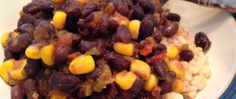 """Chile de Frijoles Negros """"Yes-You-Can"""""""