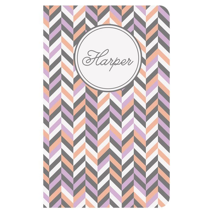 personalized notebook! How cute :)