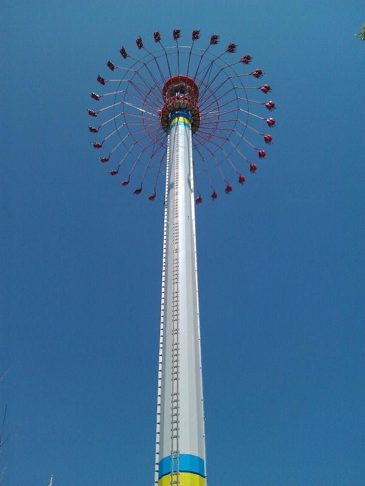 Carowinds, Charlotte NC....The Windseeker...30 story high swings