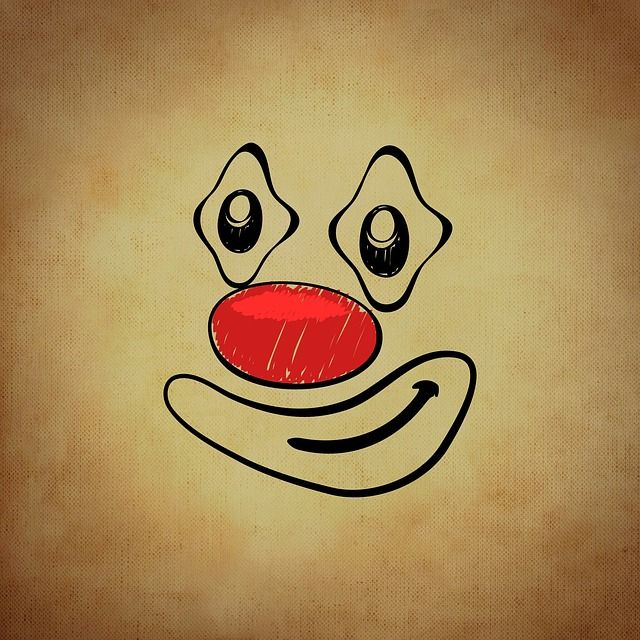 Free Image on Pixabay - Smiley, Emoticon, Clown, Funny