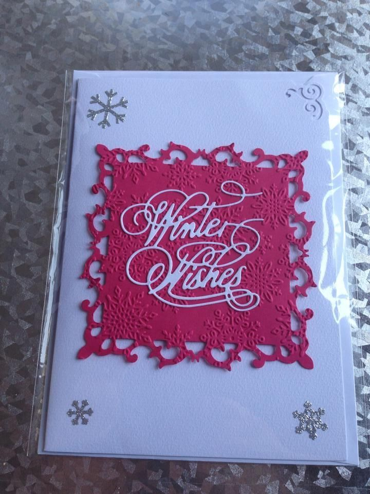Hand-made Christmas Cards