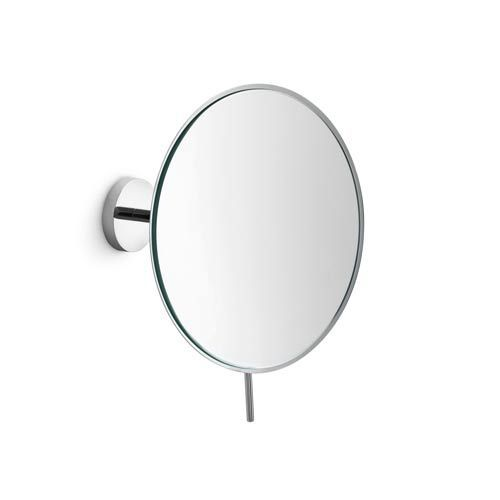 Mevedo Polished Chrome 9-Inch Wall-Mounted Magnifying Mirror