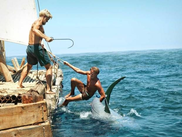 Kon-Tiki, movie review: Brilliantly shot epic voyage captures feelings of awe and terror - Reviews - Films - The Independent